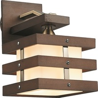 Бра Altalusse INL-9215W-01 Antique brass & Walnut Е14 1х40Вт