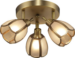 Спот Altalusse INL-9317C-03 Golden Brass Е14 3х40Вт